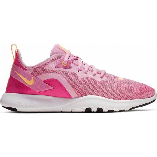 Nike dames fitness schoen Flex Trainer 9 - 600 PINK RISE/MELON TINT-LASER