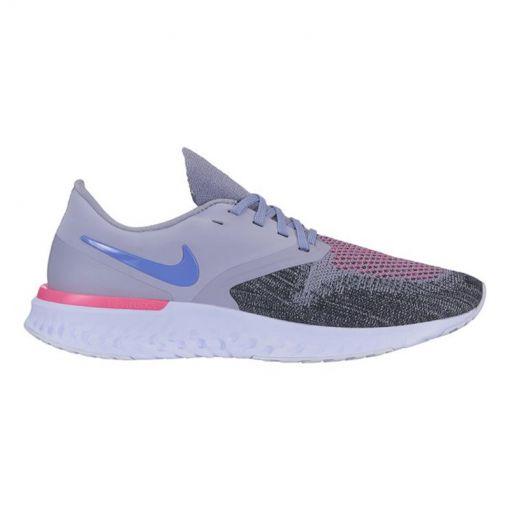 Nike damesrunning  schoen Odyssey React 2 Flyknit - 500 INDIGO HAZE/SAPPHIRE-BLACK