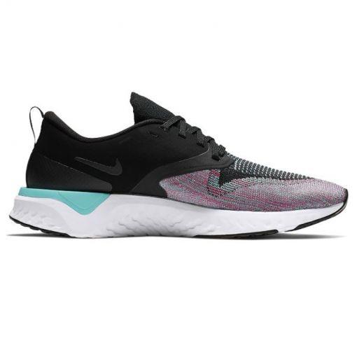 Nike dames running schoen Odyssey React Flyknit 2 - Zwart