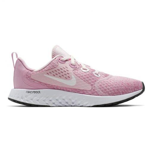 Nike meisjes casual schoen Legend React - 601 PINK FOAM /WHITE-PINK RISE