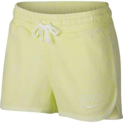 Nike dames fitness short - Groen