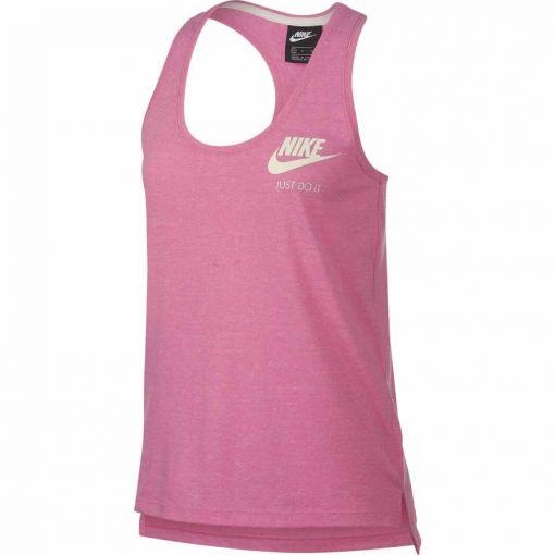 Nike dames fitness singlet Vintage - 664 LOTUS PINK/SAIL
