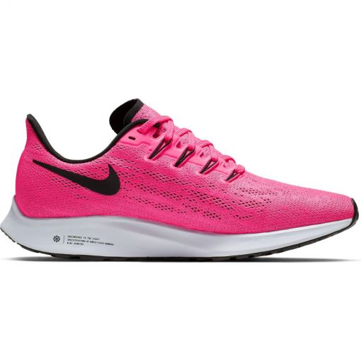 Nike dames fitness schoen Air Zoom Pegasus 36 - 600 HYPER PINK/BLACK-HALF BLUE