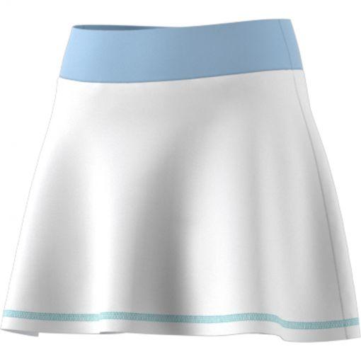Adidas meisjes tennisrokje Ribbon - wit