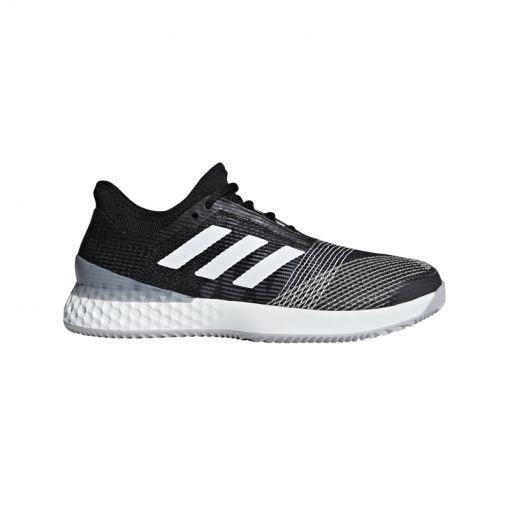 Adidas heren tennis schoen Ubersonic 3 - Zwart