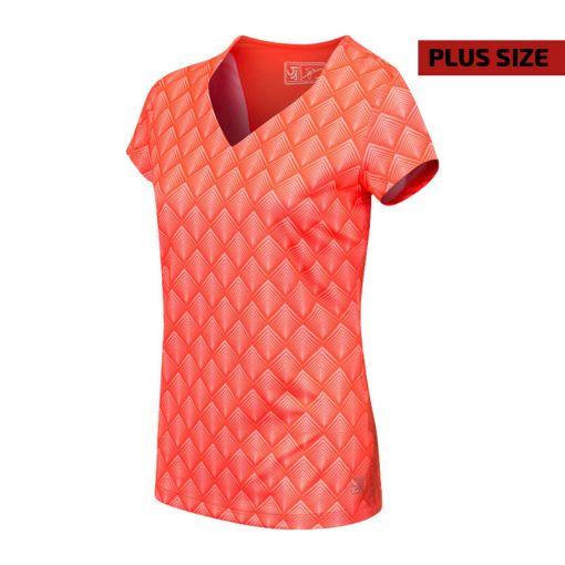 Sjeng Sport dames tennis t-shirt Birdini plus - Rood