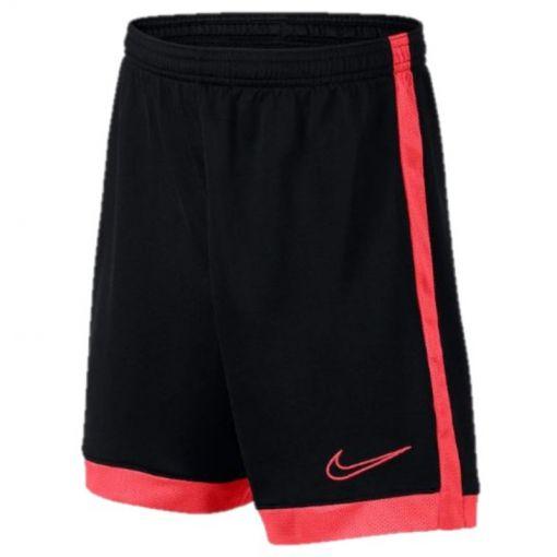 Nike junior short Breathe Academy - Zwart