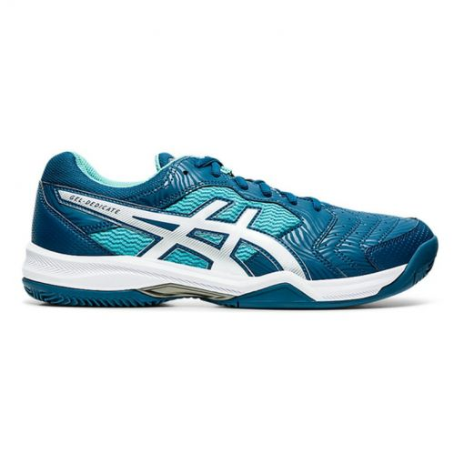 Asics heren indoor tennis schoen Dedicate 6 - 404 Mako Blue