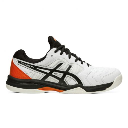 Asics heren indoor tennis schoen Dedicate 6 - Wit