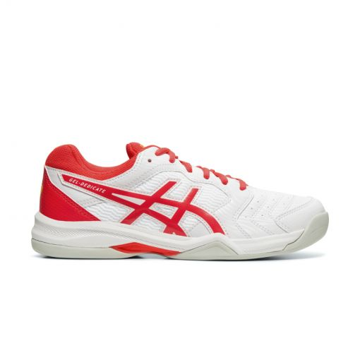 Asics dames indoor tennis schoen Dedicate 6 - Wit