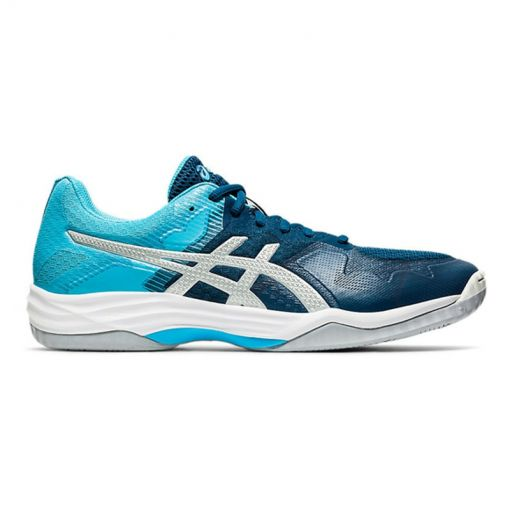 Asics heren indoor schoen Tactic - 401 Mako Blue/Pure Sil