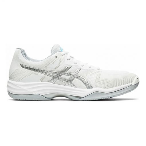 Asics dames indoor schoen Tactic - 103 White/Aquarium