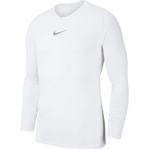 Nike heren voetbalshirt Academy 19 thermo - Wit