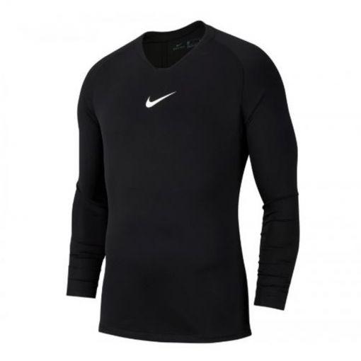 Nike heren voetbalshirt Academy 19 thermo - Zwart