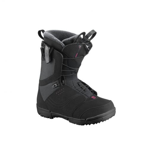 Salomon dames softboot Pearl - Zwart