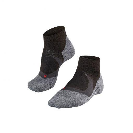 Falke heren running sokken RU4 Cool SH - Zwart