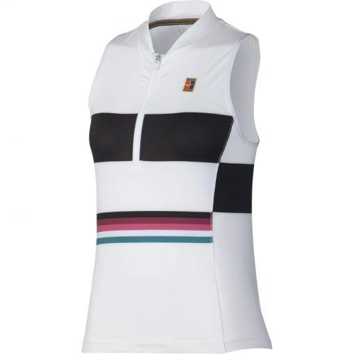 Nike dames tennis tanktop Power - Wit