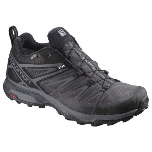 Salomon heren wandelschoen X Ultra 3 GTX - Zwart