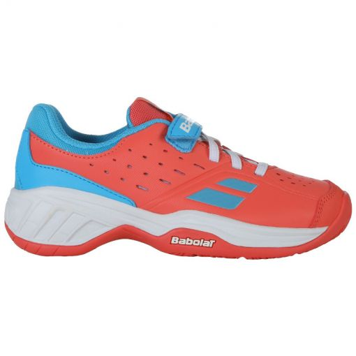 Babolat junior tennis schoen Pulsion Ac Kid - 5026 Pink/Sky Blue