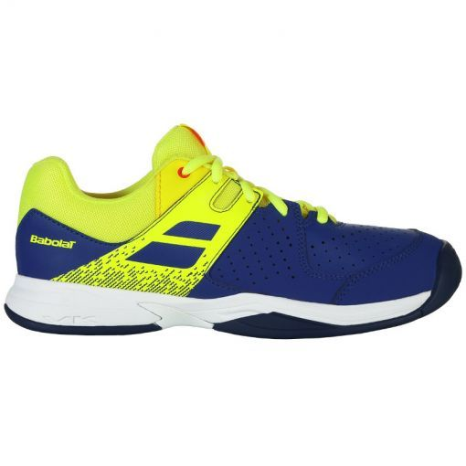 Babolat junior tennis schoen Pulsion Ac Jr - 4043 Blue/Fluo Aero