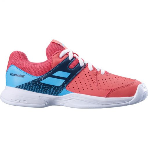 Babolat junior tennis schoen Pulsion Ac - 5026 Pink/Sky Blue