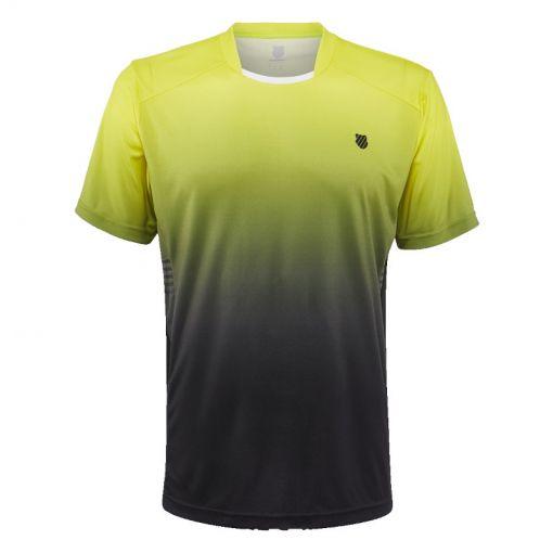K-Swiss heren tennis t-shirt Hypercourt Express - Geel