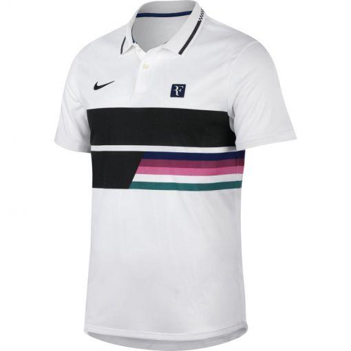 Nike heren tennis polo Court - Wit