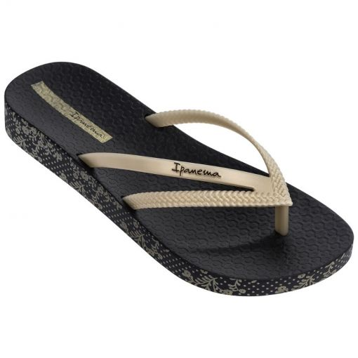 Ipanema dames beach slipper Bossa Soft - Zwart