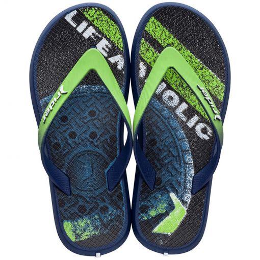 Rider junior beach slipper Energy - Blauw