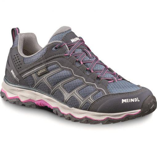 Meindl dames wandelschoen Prisma Gtx - 59 Graphit/Pink