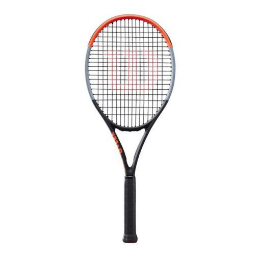 Wilson senior tennis racket Clash 100 - Zwart