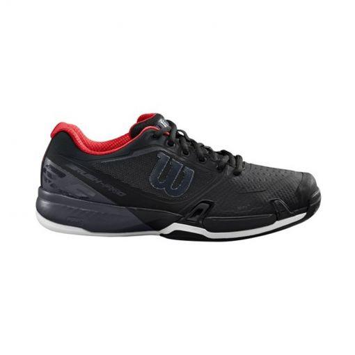 Wilson heren tennis schoenen Rush Pro 2.5 - Bk/Ebony/Rd