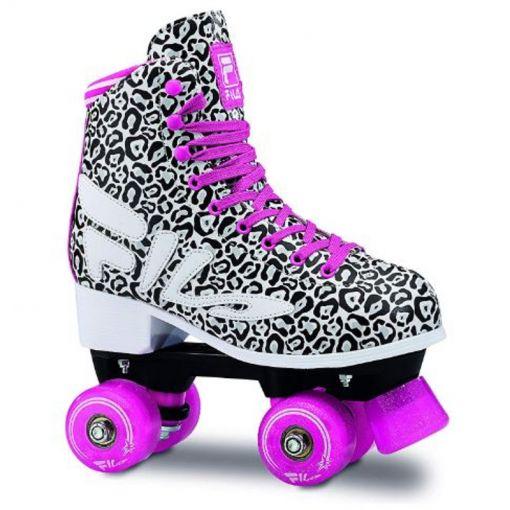 Fila dames inline skate Animalier - Zwart