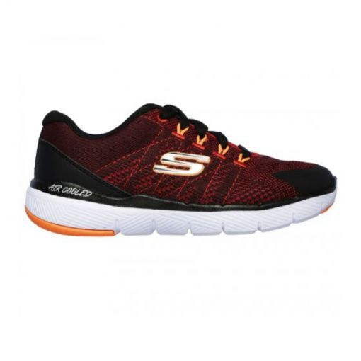 Skechers junior schoen Flex - zwart