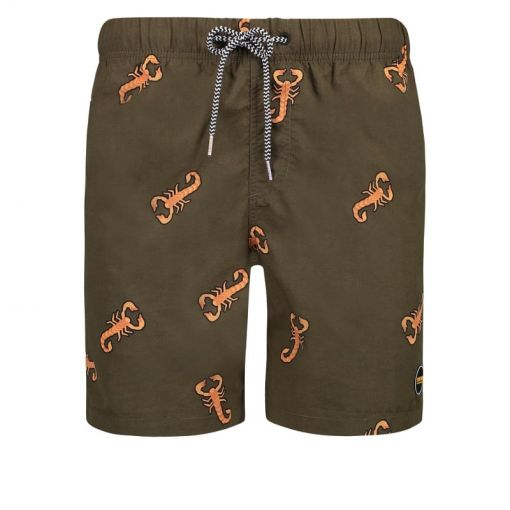 Shiwi heren zwem short Scorpion - 756 Seaturtle Green