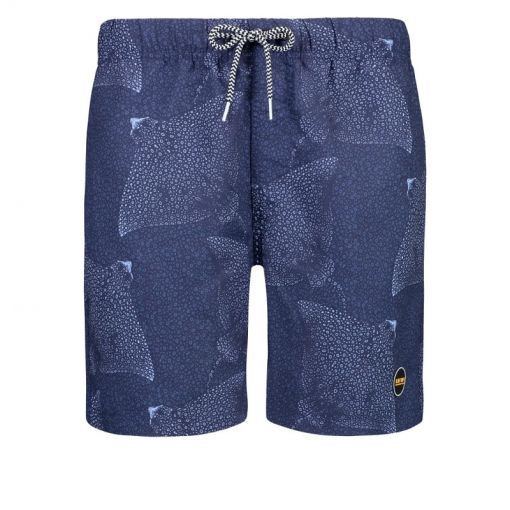 Shiwi heren zwem short Mantaray - Blauw
