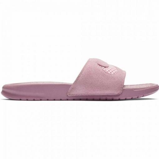 Nike dames slipper JDI LTR SE - 600 PINK FOAM /PINK FOAM -PLUM