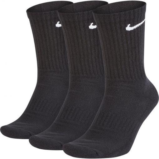 Nike unisex sok Everyday Cush Crew - Zwart