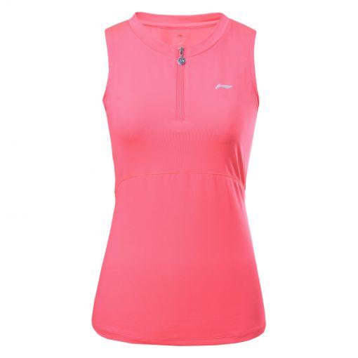 Li-ning dames tennis singlet Maggie - 640 CORAL-RED