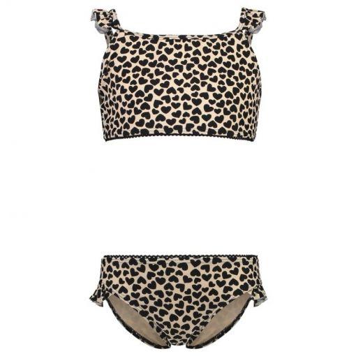 Shiwi meisjes bikini Crop Top Queen of Hearts - Wit
