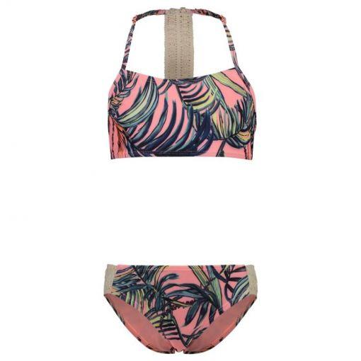 Shiwi meisjes bikini Crop Tropics - Rood