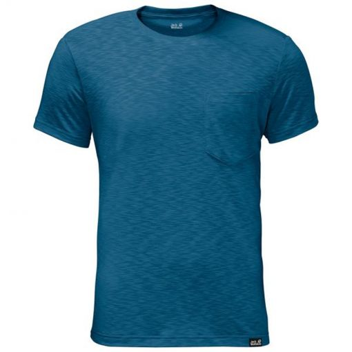 Jack Wolfskin heren t-shirt Travel - Blauw