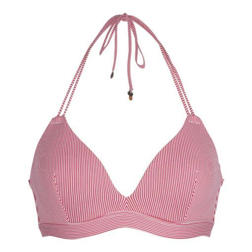 Ligadore dames triangel bikini bovenstuk Iris - Rood