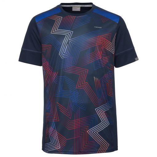 Head heren tennis t-shirt Racquet - DBRD