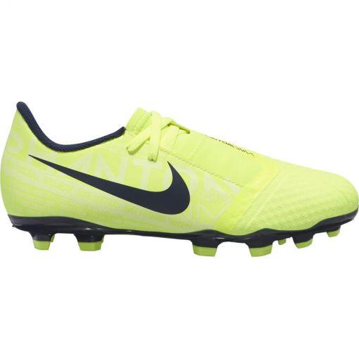 Nike junior voetbalschoen Phantom Venom Academy - 717 Volt/Obsidan