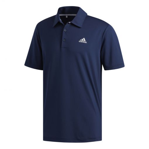 Adidas heren golf polo Ult 2.0 Sol - Blauw