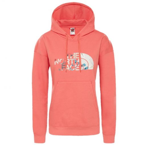 The North face dames trui Light Drew Peak Hd - HEY Spiced Coral