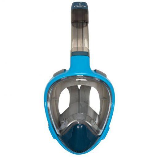 Aqua masker+snorkel Atlantis 3.0 - Blauw