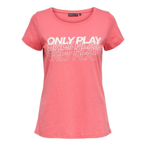Only Play dames fitness t-shirt Marina - Pink Lemonade
