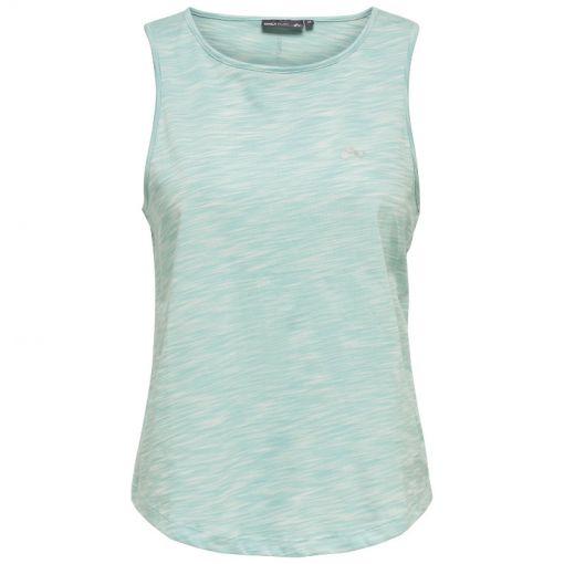 Only Play dames fitness t-shirt Malia - Licht blauw